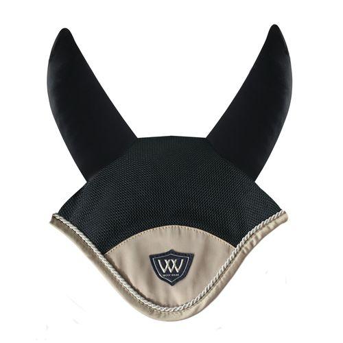 Woof Wear Vision Ergonomic Fly Veil - Black/Champagne