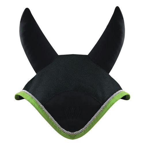 Woof Wear Ergonomic Ear Net - Black/Lime