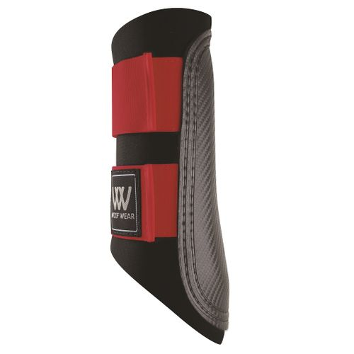 Woof Wear Sport Brushing Boot - Black/Royal Red