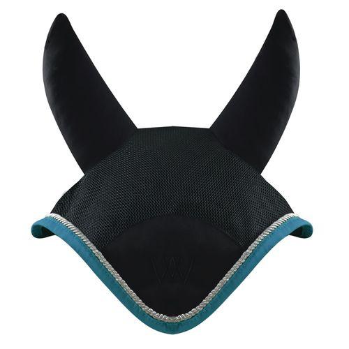 Woof Wear Ergonomic Ear Net - Black/Turquoise