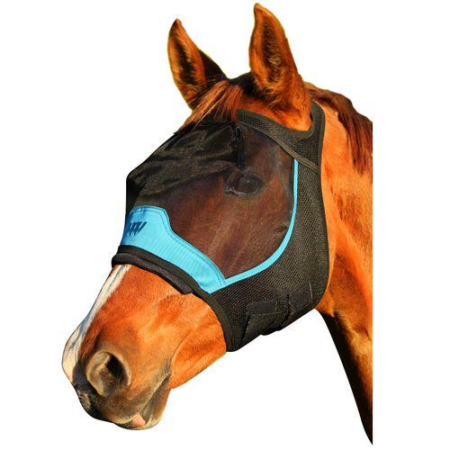 Woof Wear UV Fly Mask w/o Ears - Black/Blue