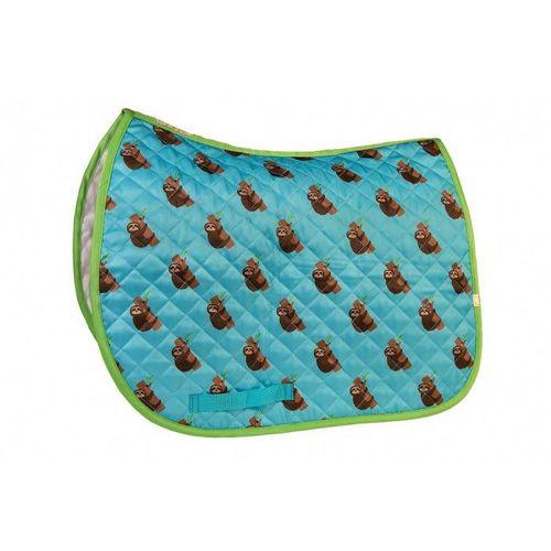 Lettia Print Baby Pad - Blue Sloth Print