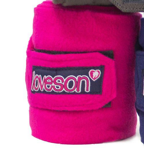 Loveson Fleece Bandages - Pink