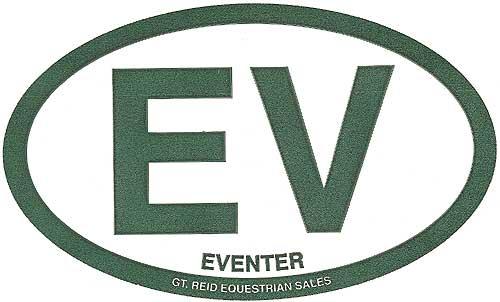 GT Reid Euro Decal Set of Three - EV