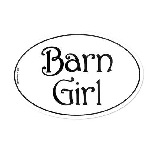 GT Reid Euro Decal Set of Three - Barn Girl