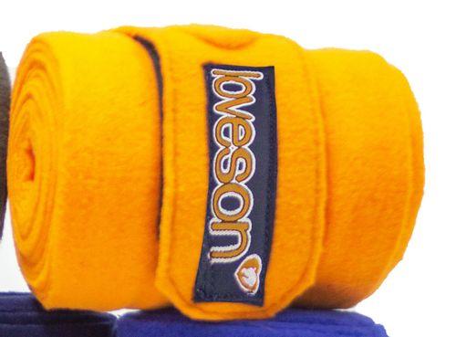 Loveson Fleece Bandages - Orange