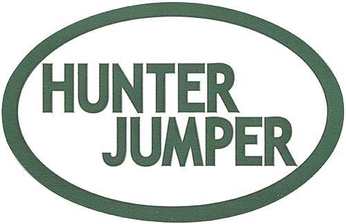 GT Reid Euro Decal Set of Three - Hunter Jumper