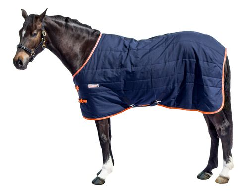 Loveson Stable Blanket 300g - Navy/Navy/Orange