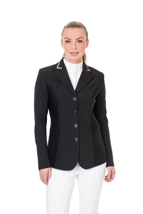 Ovation Women's Elegance Hybrid Euro Show Coat - Black