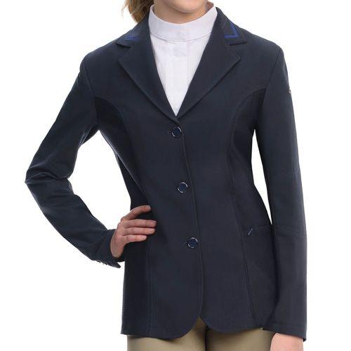 Ovation Women's Elegance Hybrid Show Coat - Navy
