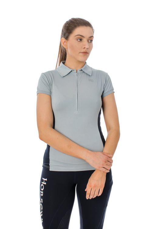 Horseware Women's Orla Technical Polo - Blue