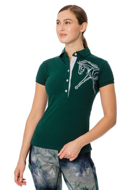Horseware Women's Flamboro Polo - Green