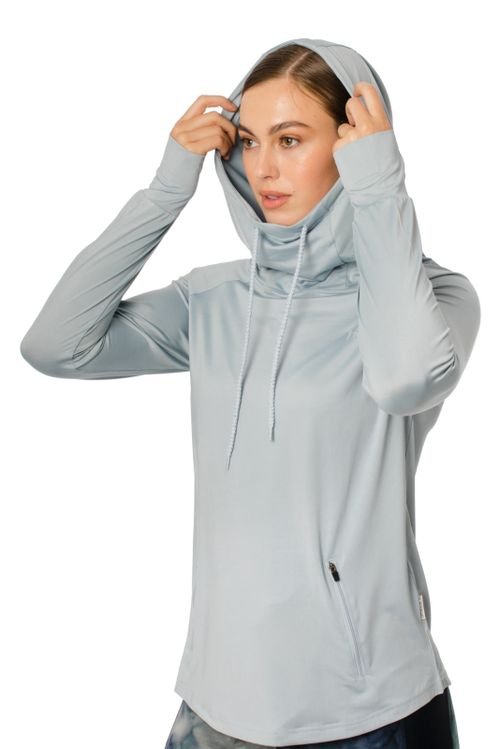 Horseware Women's Technical Hooded Top - Blue
