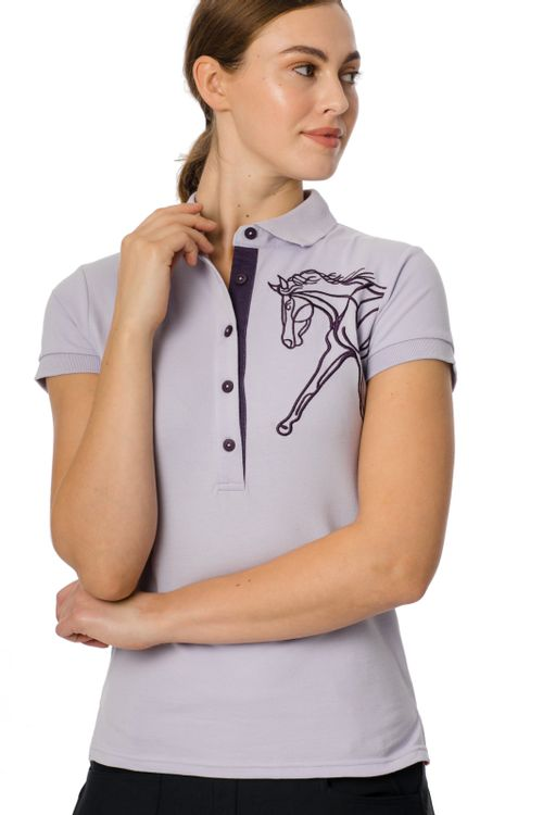 Horseware Women's Flamboro Polo - Lilac
