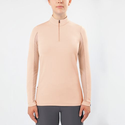 Irideon Women's CoolDown IceFil Long Sleeve Jersey - Radiant Peach