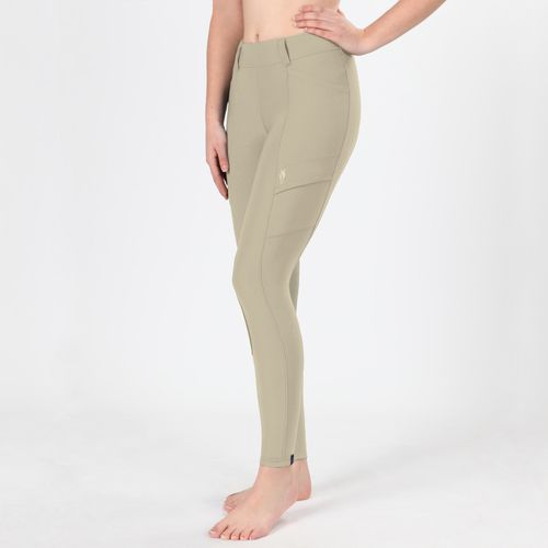 Irideon Women's Issential Cargo Knee Patch Tights - Classic Tan