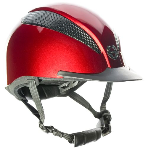 Champion Air-Tech Deluxe Helmet - Metallic Ruby