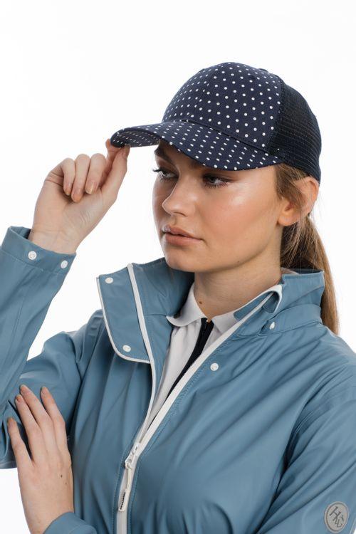 Horseware Baseball Cap - Navy Dot