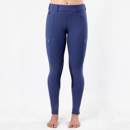 Irideon Women's Issential Cargo Knee Patch Tights - Deep Lavender