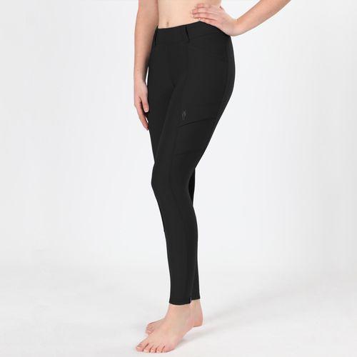 Irideon Women's Issential Cargo Knee Patch Tights - Black