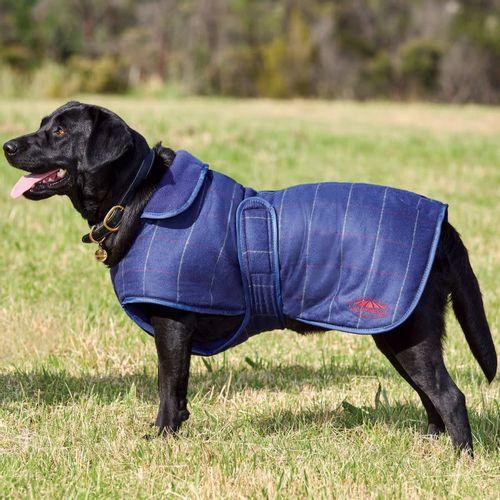 Weatherbeeta Comfitec Tweed Dog Coat II - Navy