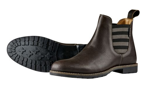 Dublin Women's Arles Sripe Pull On Boots - Brown