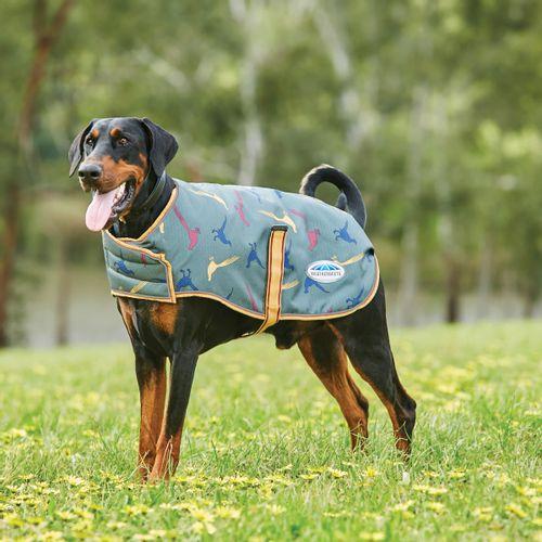 Weatherbeeta Comfitec Premier Free Parka Deluxe  Medium Weight Dog Coat - Pheasant Print