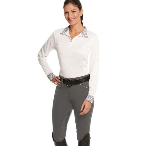 Ovation Women's Destiny Extend GripTec Knee Patch - Grey