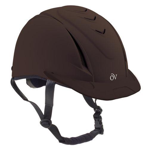 Ovation Deluxe Schooler Helmet - Brown