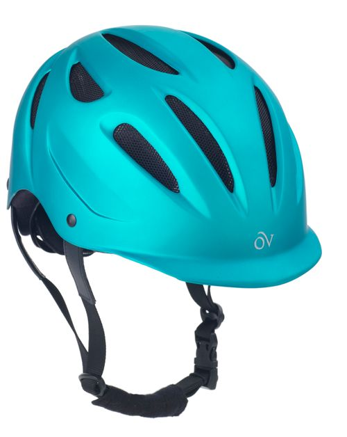 Ovation Metallic Protg Helmet - Teal