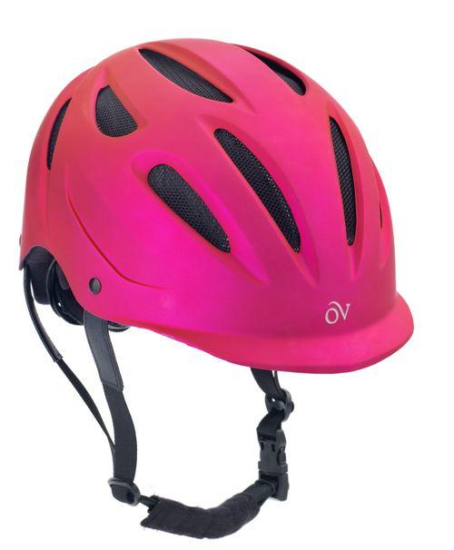 Ovation Metallic Protg Helmet - Fuchsia