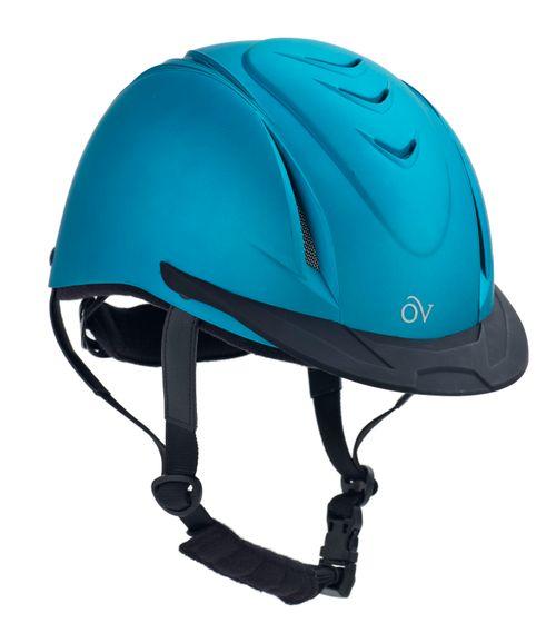 Ovation Metallic Schooler Helmet - Teal