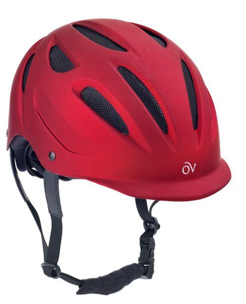 Ovation Metallic Protg Helmet - Red