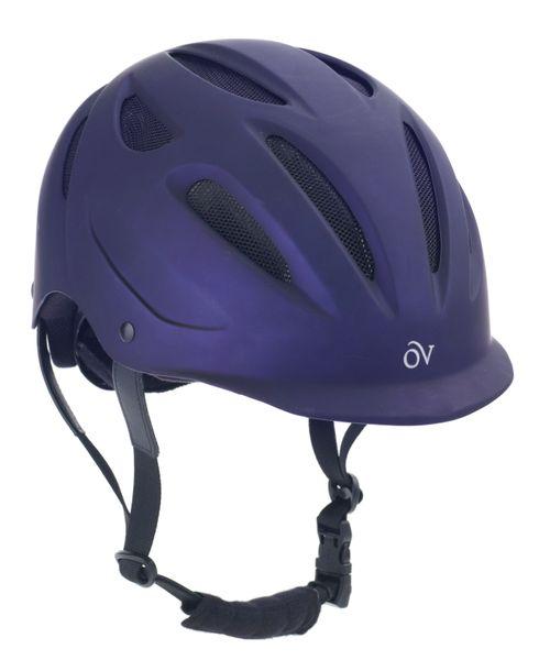 Ovation Metallic Protg Helmet - Purple