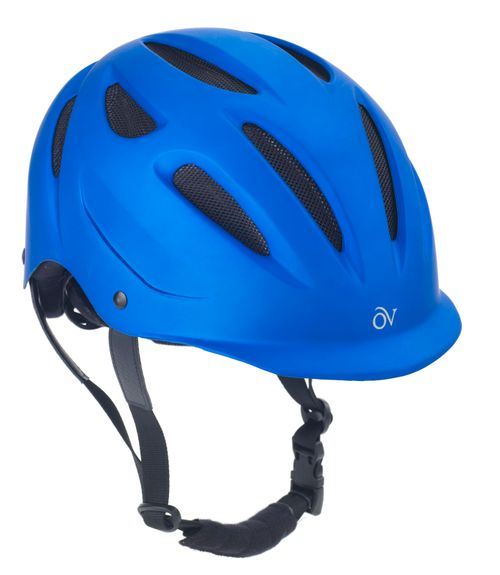 Ovation Metallic Protg Helmet - Blue