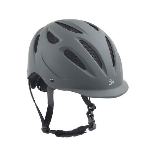 Ovation Protege Matte Helmet - Gray Matte