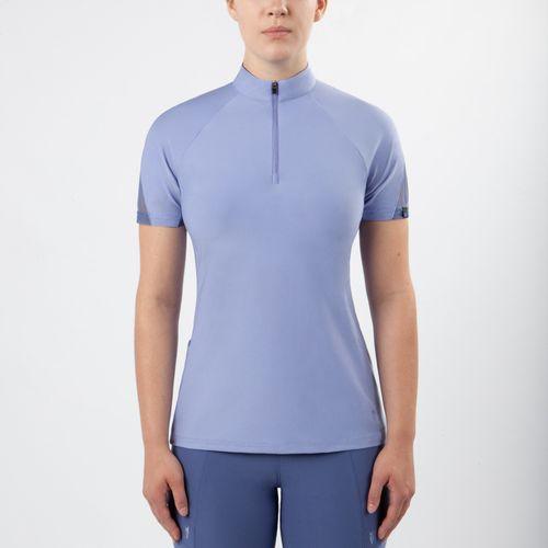 OPEN BOX: Women's Vientex Icefil Jersey Zip Front Shirt - Large - Wisteria