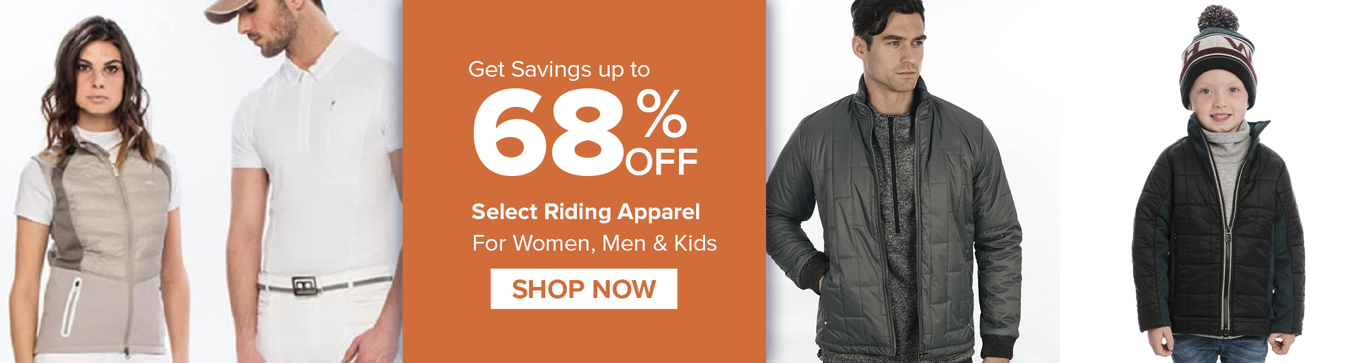 Tack of the Day Apparel on Sale