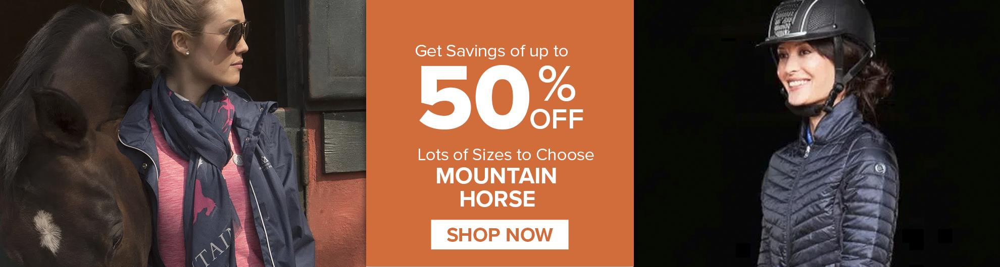 Mountain Horse on Sale