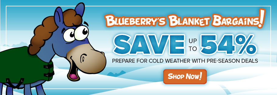 Save up to 54% on winter horse blankets