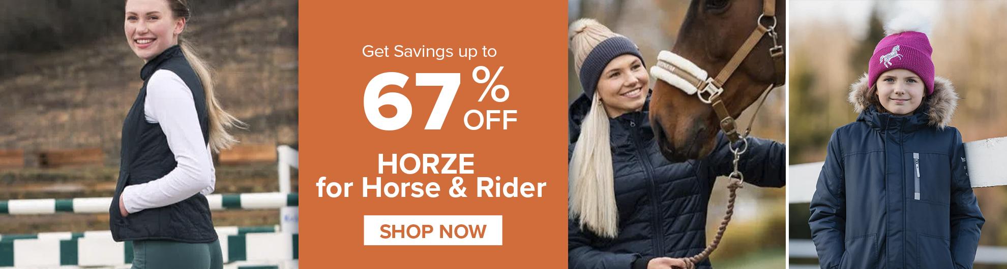 Horze Equestrian On Sale