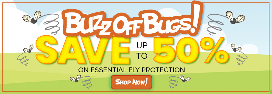 Save up to 50% on horse fly sheets, masks and boots