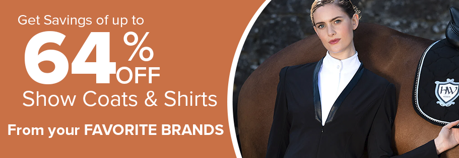 Save up to 64% on Show Clothing on Top Brands