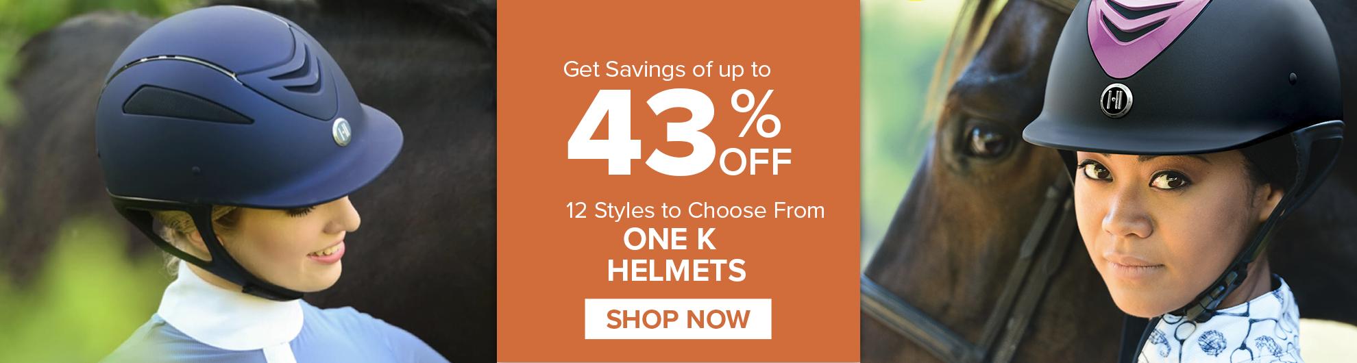 One K Helmets on Sale