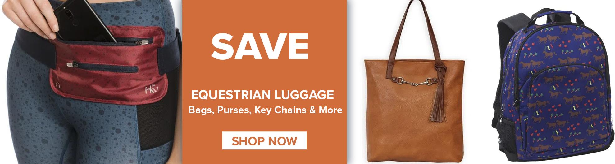 Equestrian Luggage on Sale